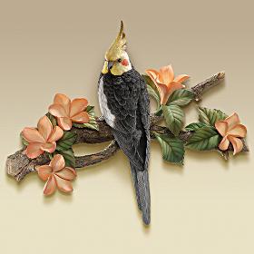 Bradford exchange quebec d coration murale d oiseau for Decoration murale oiseau 3d