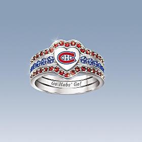 de bagues pour femmes des Canadiens de Montréal MD , sous licence de ...
