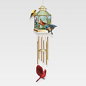 bradford exchange quebec carillon vent d int rieur avec embout de style pagode qui c l bre. Black Bedroom Furniture Sets. Home Design Ideas