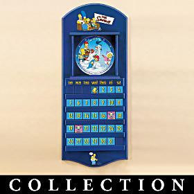 The Simpsons Collector Plate Calendar