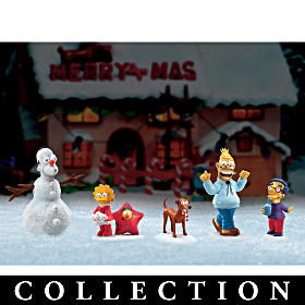 The Simpsons Holiday Figurine Collection