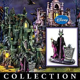 Disney Villains Halloween Village