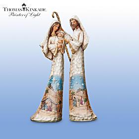 Bradford exchange quebec la toute premi re collection de figurines de la nativit par thomas - Collection exclusive bois ...