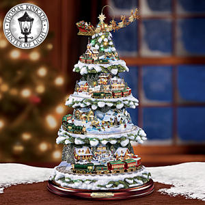 The Thomas Kinkade Wonderland Express Christmas Tree ...