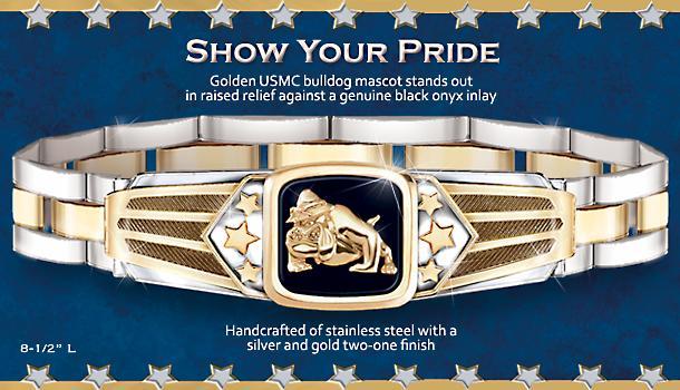 Show Your Pride USMC Men's Bracelet