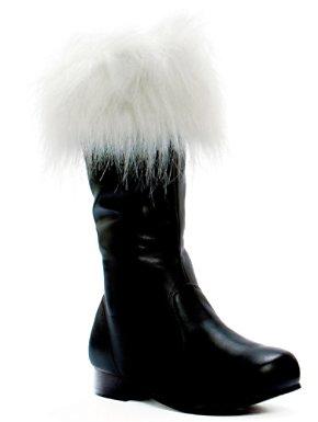 Child Black Santa Boots