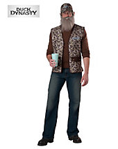 Duck Dynasty Si Adult Costume - below-cost-sale - mens-costumes
