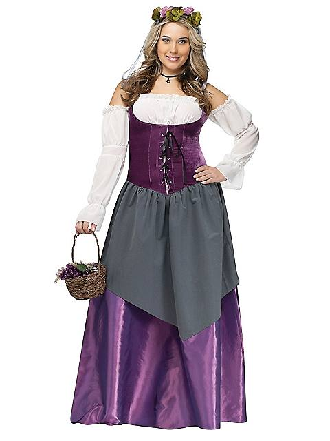 Adult Plus Size Beer Wench Costume
