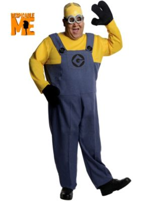 Minion Dave Despicable Me Plus Size Men's Costume