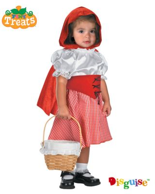 Click Here to buy Lil Red Riding Hood Baby Costume from Wholesale Halloween Costumes