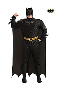 Dlx Dark Knight Muscle Chest Batman Plus Adult Costume