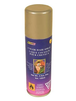 Gold Hairspray