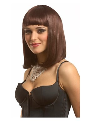 Economy Peggy Sue Wig - Brown Adult