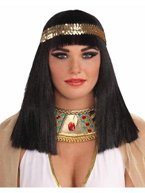 Cleopatra Wig w/headband Adult