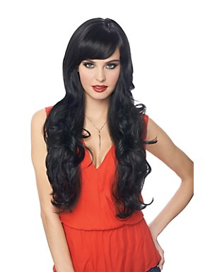 Black Dream Girl Wig Adult