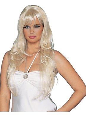 Dream Girl Wig Blonde Skin Top Adult
