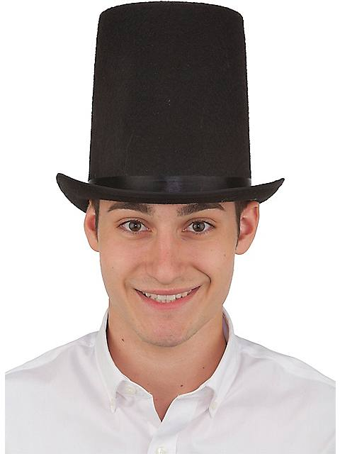 Lincoln Classic Top Hat Adjustable YouthAdult $8.99 AT vintagedancer.com