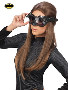 Women's Catwoman Deluxe Goggles Mask