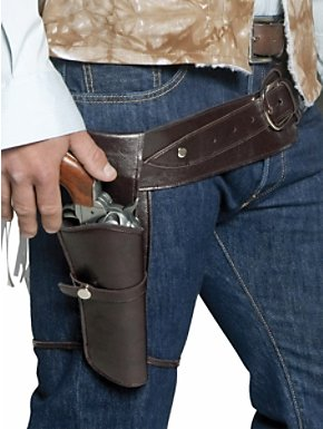 Western Gunman Holster and Belt