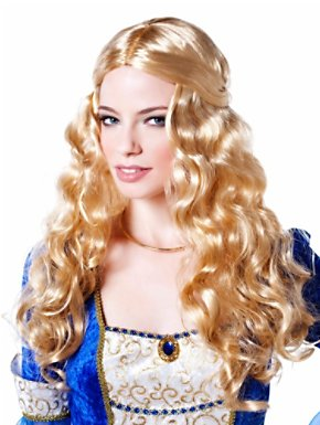 Renaissance Goddess Blonde Adult Wig