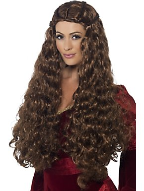 Women's Sexy Medieval Princess Wig