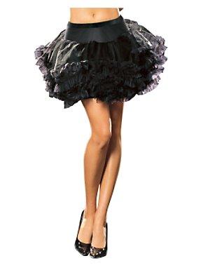 Ursula Petticoat Black Adult
