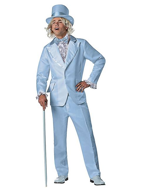 Halloween Costumes | Halloween Mens Dumb and Dumber Harry Blue Tuxedo Costume