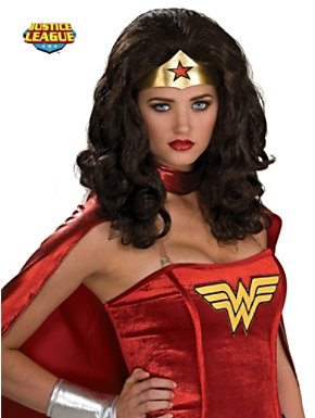 Women's Wonder Woman Wig