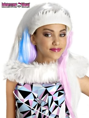 Child Monster High Abbey Bominable Wig