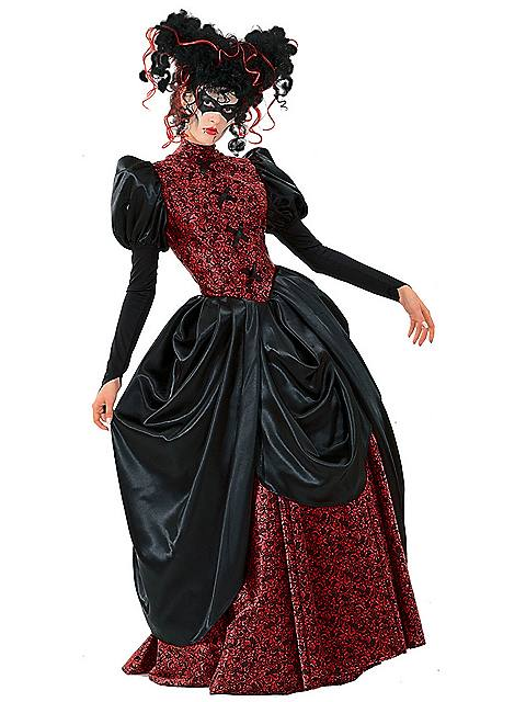 Womens Vampire Queen Costume $64.98 AT vintagedancer.com