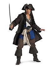 Captain Jack Sparrow Prestige Premium Adult Costume - disney - mens-costumes