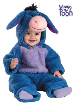 Click Here to buy Deluxe Plush Eyeore Costume for Babys from Wholesale Halloween Costumes