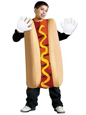 Childs Unisex Hot Dog Costume