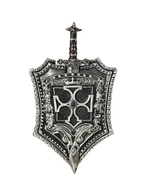 Crusader Shield and Sword