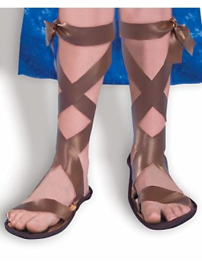 Brown Roman Sandals Child