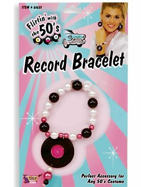 50's Record Bracelet