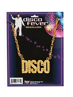 "Gold ""Disco"" Necklace"
