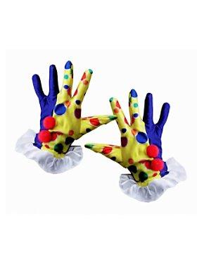 Clown Gloves Yellow