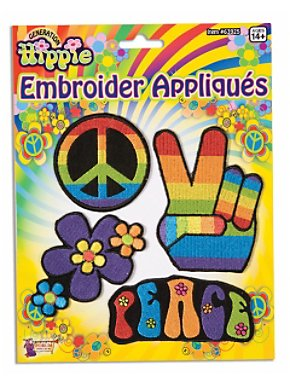 Hippie Applique Set