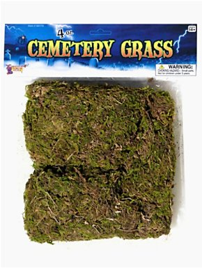 Cemetery Decorating Grass