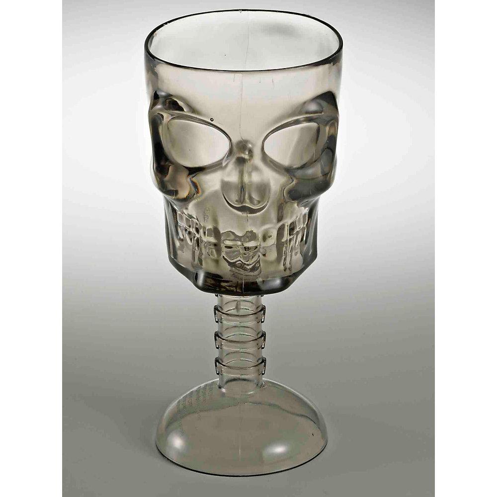 Clear Skull Goblet 67775F