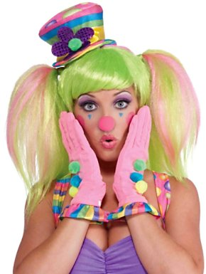 Circus Sweetie Ruffled Gloves