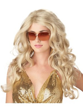 Blonde Sexy Super Model Wig