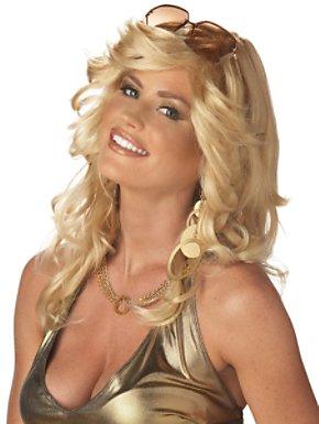 Adult Blonde Discorama Mama Wig