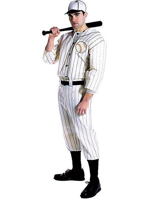 Old Tyme Baseball Player Adult Costume