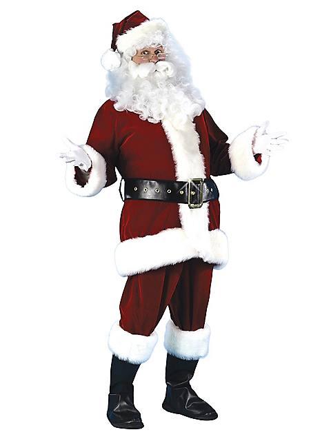 X-Large Professional Quality Ultra Velvet Santa