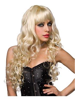 Deluxe Missy Platinum Blonde Wig Adult