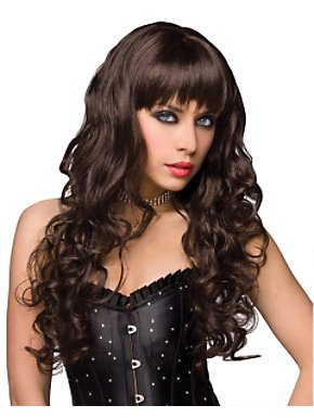 Deluxe Missy Brown Wig Adult