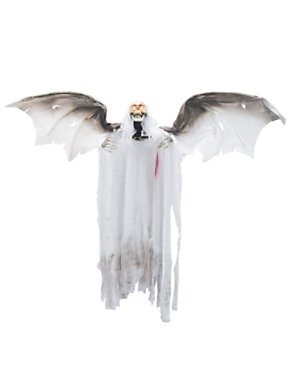 3' Animated Bloody Flying Winged Reaper Prop