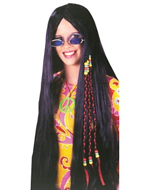 Adult Braided Hippie Wig